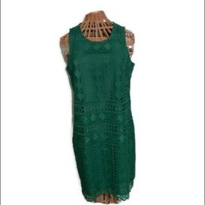 Vince Camuto Dress Green Size 8